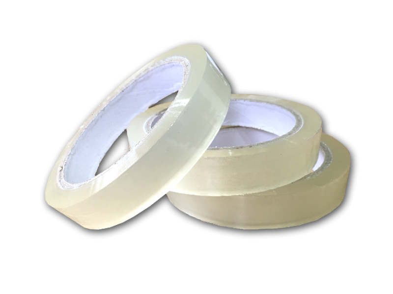 96 Rolls of Clear Packing Tape 19mm x 66m -0