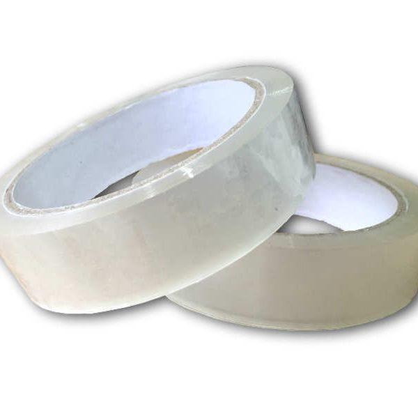 72 Rolls of Sticky Clear Packing Tape 25mm x 66m-0