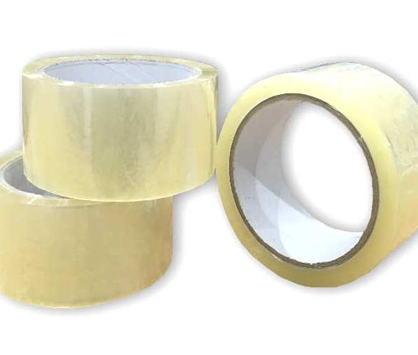 Box of 36 Rolls of Clear 48mm x 66m Standard Packing Tape Sellotape-0