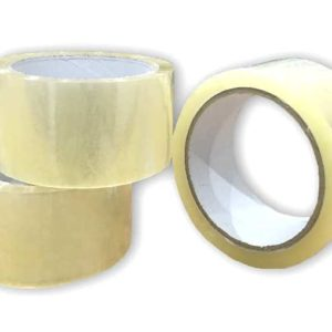 Box of 36 Rolls 48mm x 66m Low Noise Clear Tape-0