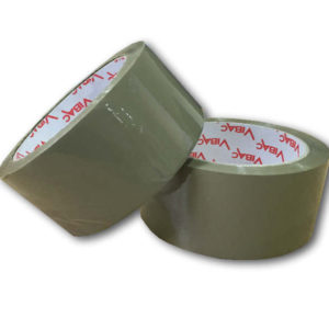 56 Rolls of 48mm x 66m Brown Solvent Tape-0