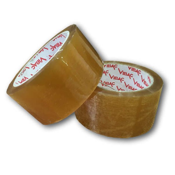36 Rolls of 48mm x 66m Clear Solvent Tape-0