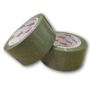 36 Rolls of 48mm x 66m Brown Vinyl PVC Packaging Tape-0