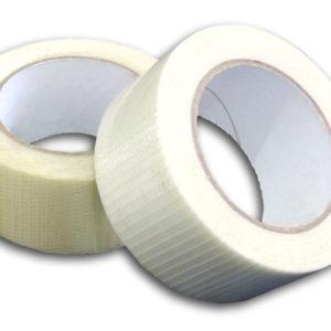 48 Rolls of Crossweave Tape 19mm x 50m -0