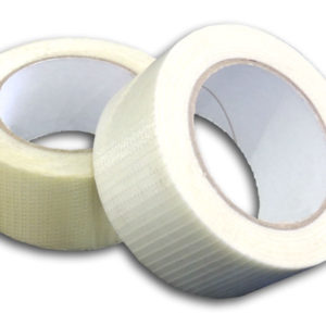 18 Rolls of Crossweave Tape 50mm x 50m -0