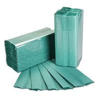 1 ply Green C Fold Hand Towels-58