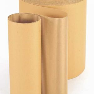 Corrugated Paper Roll 100mm x 75m -0