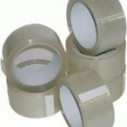 1 Roll of Clear 48mm x 66m Standard Packing Tape Sellotape-640
