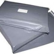 "Pack of 100 9"" x 12"" Standard Polythene Mailing Bags (230 x 300) 60 Microns-0"
